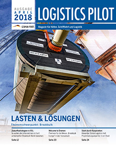 Titelblatt Logistics Pilot April 2018