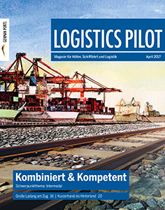 Titelblatt Logistics Pilot April 2017