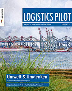 Titelblatt Logistics Pilot Oktober 2017