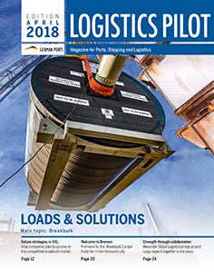 title page Logistics Pilot April 2018