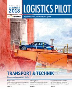 Titelblatt Logistics Pilot Dezember 2018
