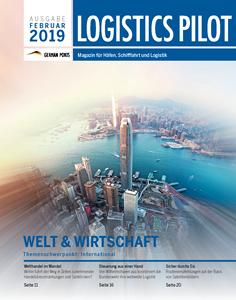 Titelblatt Logistics Pilot Februar 2019