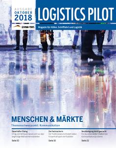 Titelblatt Logistics Pilot Oktober 2018