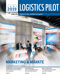 Titelseite Logistics Pilot Juni 2019