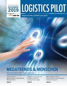 Titelseite Logistics Pilot Dezember 2019